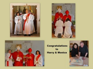 Harry and Monica Ordained Deacons at General Assembly 2015
