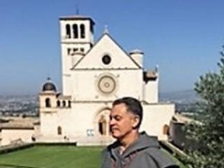 Victor Ayala Visits Assisi, Italy