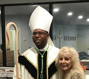 Bishop Theogene at Consecration TH