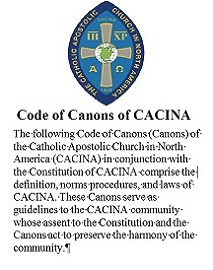 Preface to the 2016 Revision of the Code of Canons To the