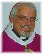 Picture of Bishop Anthony in his clerical garb with bishop's cap
